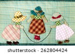 Quilt : Girls skipping rope