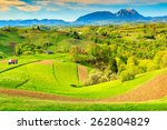 stunning alpine landscape and...   Shutterstock . vector #262804829