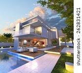 3d rendering of impressive... | Shutterstock . vector #262831421