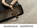 christian  christianity  prayer. | Shutterstock . vector #262850435
