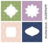 set of seamless pattern... | Shutterstock .eps vector #262859699