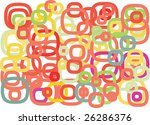 colorful frame pattern | Shutterstock .eps vector #26286376