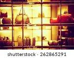 luxury goods shopping. luxury... | Shutterstock . vector #262865291