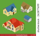 architecture classic... | Shutterstock .eps vector #262877699