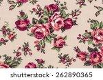 classic wallpaper seamless...   Shutterstock . vector #262890365
