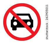 circle prohibited sign for no... | Shutterstock .eps vector #262905011