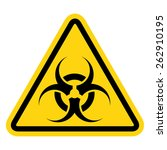 biohazard symbol sign of... | Shutterstock .eps vector #262910195