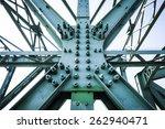 steel construction of mautern... | Shutterstock . vector #262940471