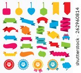web stickers  tags and banners. ...   Shutterstock .eps vector #262960814
