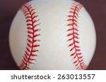 major league baseball...   Shutterstock . vector #263013557