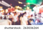 blurred background   people... | Shutterstock . vector #263036264