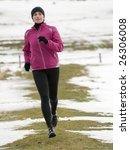 early spring running | Shutterstock . vector #26306008