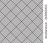 vector seamless pattern ... | Shutterstock .eps vector #263065421