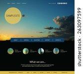 website design for your...   Shutterstock .eps vector #263097599