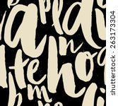 Seamless Pattern Letters For...