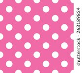 Seamless Pink Polka Dot...