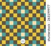 seamless geometric background....   Shutterstock .eps vector #263199977
