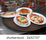 four freshly prepared meals in... | Shutterstock . vector #2632737