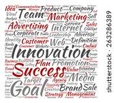 concept or conceptual... | Shutterstock . vector #263286389