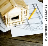 building house. house... | Shutterstock . vector #263323481