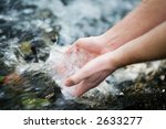 hands in water | Shutterstock . vector #2633277