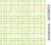 seamless striped green vector... | Shutterstock .eps vector #263338019