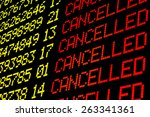 Cancelled Flights On Airport...