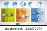 infographic vector illustration. | Shutterstock .eps vector #263373074