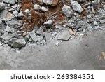 Broken Concrete Floor Slab