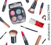 Watercolor Cosmetics Pattern....