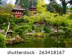 Japanese Tea Garden In Golden...