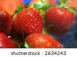 strawberry rain | Shutterstock . vector #2634243