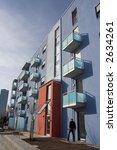 modern apartment building | Shutterstock . vector #2634261