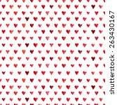 vector seamless pattern of... | Shutterstock .eps vector #263430167