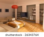 drawing room at day | Shutterstock . vector #26343764