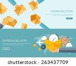 flat vector illustration... | Shutterstock .eps vector #263437709