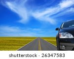 car on the road   Shutterstock . vector #26347583