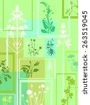 plant set   Shutterstock .eps vector #263519045