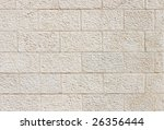 Vertical Wall Built Of...