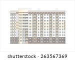 buildings and structures of the ... | Shutterstock . vector #263567369