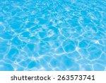 Light Blue Swimming Pool...