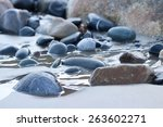Pebbles  stones  rocks  sand