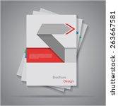 modern origami paper cut arrow...