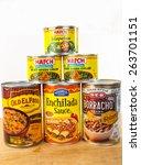 llano  tex mar 24  2015   cans... | Shutterstock . vector #263701151
