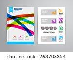 vector illustration with... | Shutterstock .eps vector #263708354