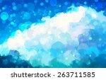 glow sky brush strokes...   Shutterstock .eps vector #263711585