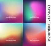 abstract colorful vector...   Shutterstock .eps vector #263721515
