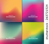abstract colorful vector... | Shutterstock .eps vector #263721524