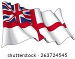British Naval Ensign  Flag