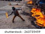 Street Protests In Kiev  The...